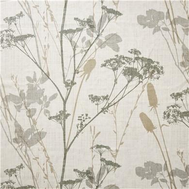 Rideau plis piqués flamands Hilda Vert
