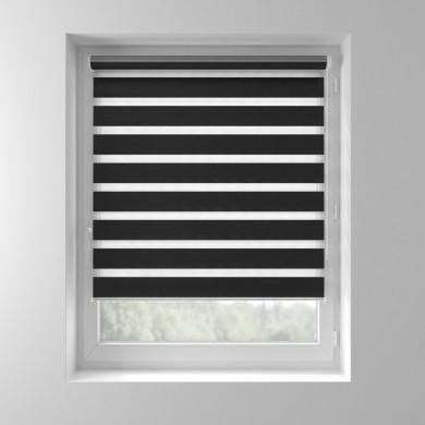 Store enrouleur JOUR-NUIT Basic Vital Noir