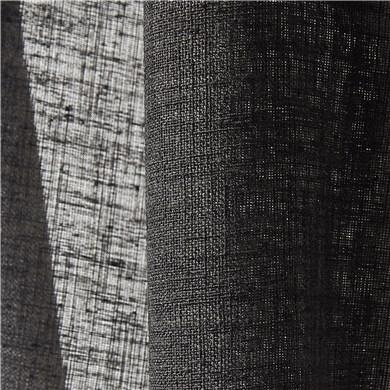 Voilage plis piqués flamands Como Noir
