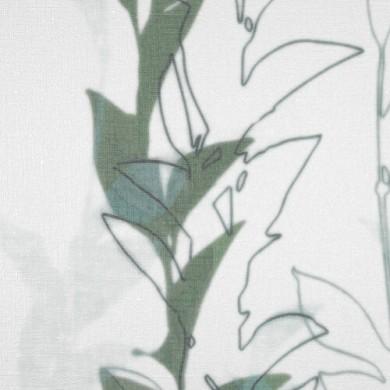 Voilage plis piqués flamands Lahati Canard
