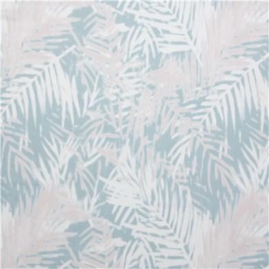 Voilage plis piqués flamands Palm Lagon